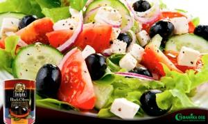 007. Какво е салатата без маслини!