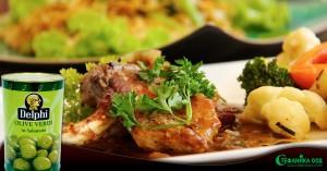 007. Апетитно агнешко с картофи и маслини. Рецепта, не само за Великден.