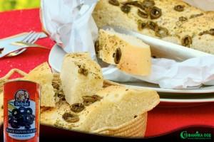 Вкусна питка със зехтин и маслини