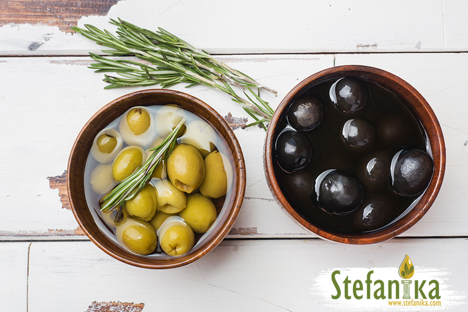 Зелени маслини